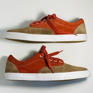 Converse All-Star Low-Top Two-Tone Suede Sneakers